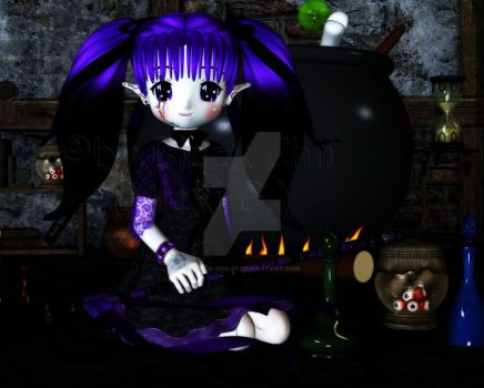 witch Lilit by Black-Chii-07