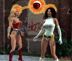 The Eye Attacks 1 by White0wlsuperheroine