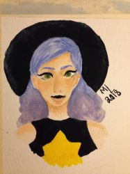 Watercolor witchy by NexiusxHeartsx