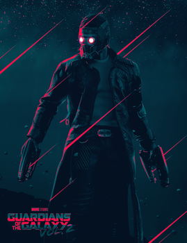Guardians of the Galaxy Vol.2 Starlord by ehnony