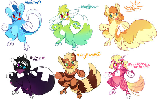 Poff batch! - All sold! by PudgeHen