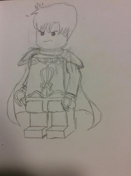 LEGO Mamoru (Armor suit) by doctorwhooves253