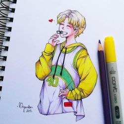 Smiley Boy Jimin by Miyanko-chan