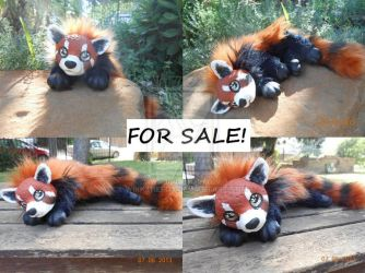 Red Panda Art Doll FOR SALE by WikkTheFox