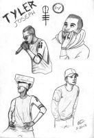 Tyler portrait collage by alexiacupcakes123
