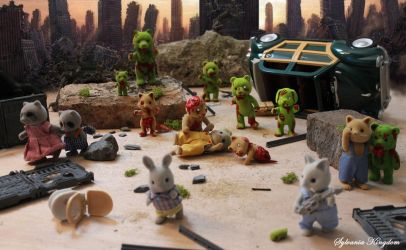 Sylvanian zombies by dandlit