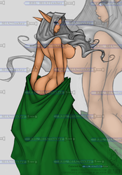 A Cheeky Elf by JollyJack - Colored by RBL-M1A2Tanker