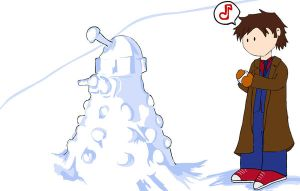 The Doctor and the Snow Dalek by whosname