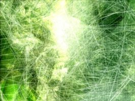 Green Abstract Explosion V2 by DIN1031