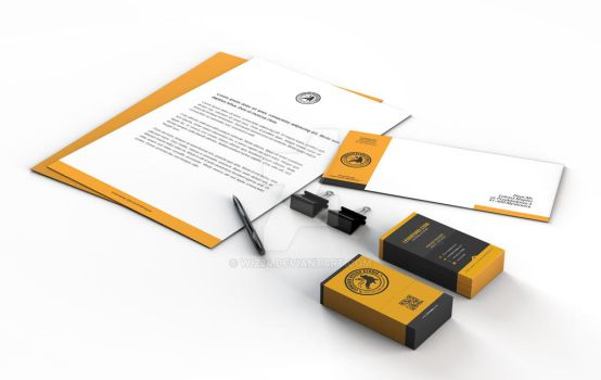 Leonegro DSGN Stationery by wiz24