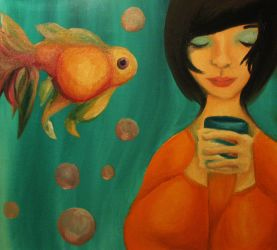 Me and a goldfish made coffee. by Early-Bird-Special