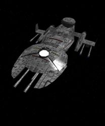 Defender class  star ship by USFU