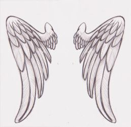 Inked Angel Wings by SrtaQuesadilla