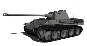 Panther Ausf.F by K-E93-3