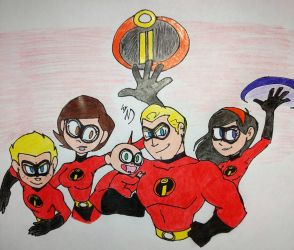 The Incredibles by streak663