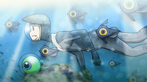 JackSepticEye: Subnautica by MagicalPouchOfMagic