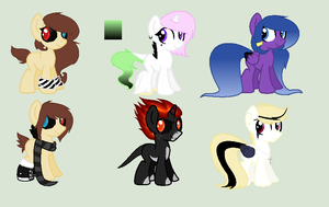 Free foal adopts [Closed] by dragonlover786