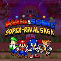 Mario and Sonic: Super-Rival Saga Series Poster by ShadicStudios