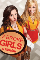 2 Broke Girls speed painting by BluefireArt