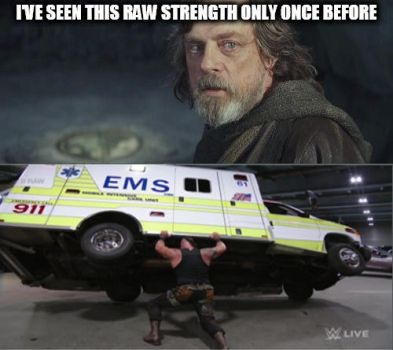 Meanwhile, in a WWE Universe Far Far Away.... by laprasking