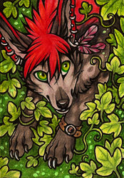 ACEO Eleweth by CanisAlbus