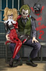 Joker and Harley by steveagoto