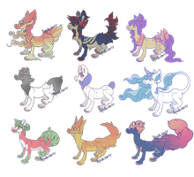 Teacup Fleon Batch! {3/9 OPEN REDUCED} by UNIDROID