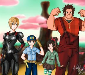 Wreck It Ralph by timz115
