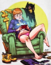 Batgirl Relaxin by ArtistAbe