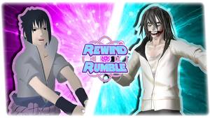 RR|Sasuke vs. Jeff The Killer by Vex2001