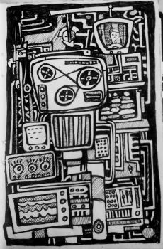 electrosketch by archizero