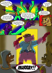 Sly Cooper: Thief of Virtue Page 24 by ConnorDavidson