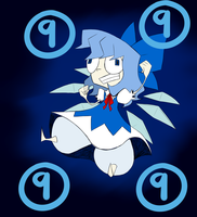 Cirno the ice fairy of DOOM! by Glitched-Irken