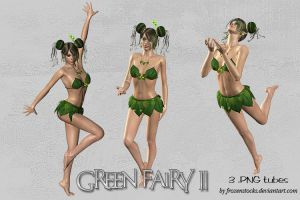 UNRESTRICTED - Green Fairy Tubes 2 by frozenstocks