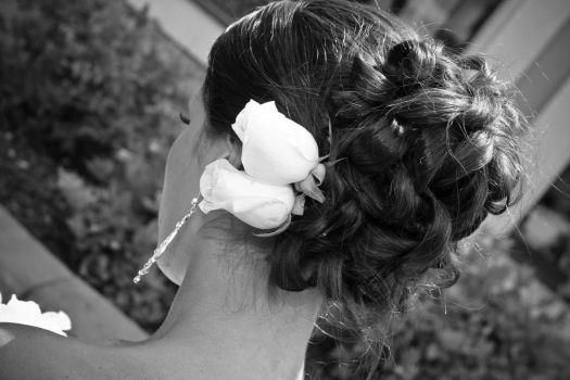 Bridal Hair 13029548 by StockProject1