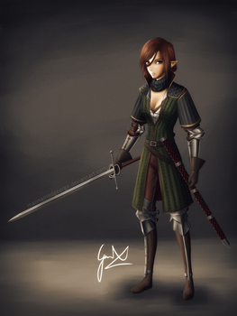Val Character Concept by CaptainBombastic