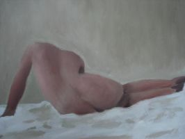 My First Nude by kentura