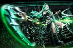 League of Legends - Female Thresh by KiraHokuten
