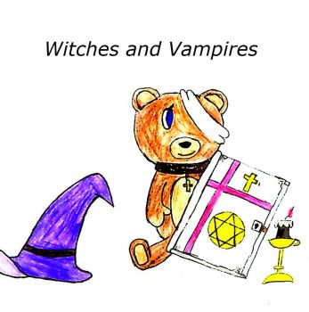 Witches and Vampires Cover by TheBioFox