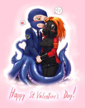 TF2 St. Valentine's Day by Tanita-sama