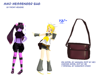 MMD Messenger bag DL by front-reverie