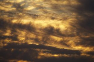 In the entrails of the sunset I by RDores