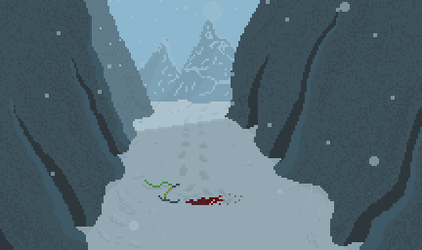 Animated Scene - Missing Climber by 8bitBonfire