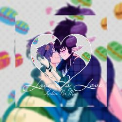 Love is Love- PhotoEditor edit by ScribblySkiesStudios