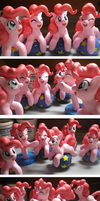 Pinkie Pie Sculpture by fromamida