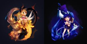 BnS characters by Qu-r