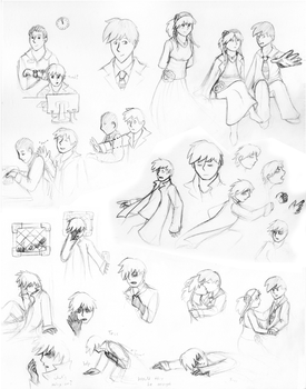 Concept Doodles for the Prolog by Exclarmation