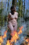 Naked witch is burned at the stake by buckytomsk