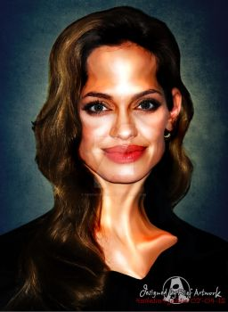 Angelina Jolie by noedieartwork