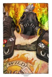 ROad HoG from Overwatch by j2Artist